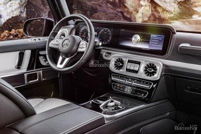 Mercedes-Benz G-Class 2019 sở hữu khoang nội thất thiết kế mới.