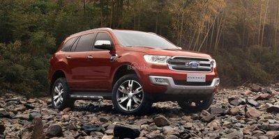 Ford Everest facelift 2018 bất ngờ lộ ảnh trên đường phố 2a