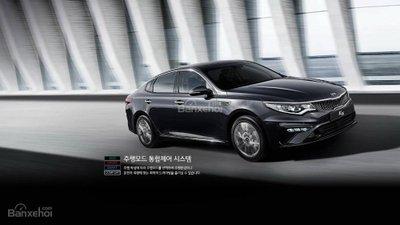 Kia Optima 2018 bản nâng cấp ra mắt Hàn Quốc, chưa có giá bán a2