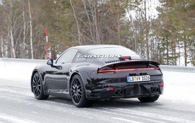 Porsche 911 2019 sẽ có phiên bản 600 mã lực và biến thể Hybrid - 3