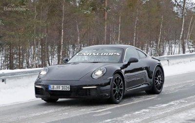 Porsche 911 2019 sẽ có phiên bản 600 mã lực và biến thể Hybrid - 1