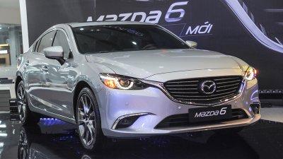 Giá xe Mazda 6 tháng 6/2019.