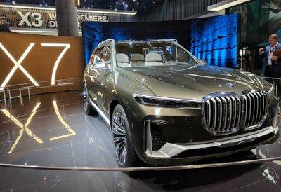 BMW X7 2020.