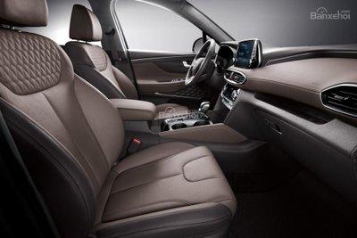 Ảnh Hyundai Santa Fe 2019 thế hệ mới a21