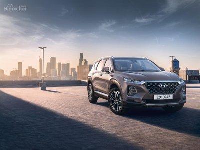 Ảnh Hyundai Santa Fe 2019 thế hệ mới a6