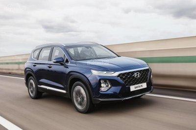 Ảnh Hyundai Santa Fe 2019 thế hệ mới a1