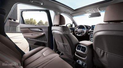 Ảnh Hyundai Santa Fe 2019 thế hệ mới a22