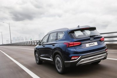 Ảnh Hyundai Santa Fe 2019 thế hệ mới a3
