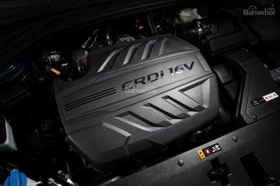 Hyundai Santa Fe 2019 có thêm lựa chọn động cơ diesel mới.