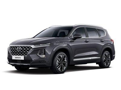 Ảnh chi tiết Hyundai Santa Fe 2019 thế hệ mới giá 595 triệu vừa ra mắt a8