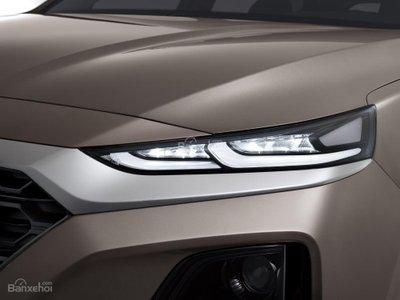 Ảnh Hyundai Santa Fe 2019 thế hệ mới a10