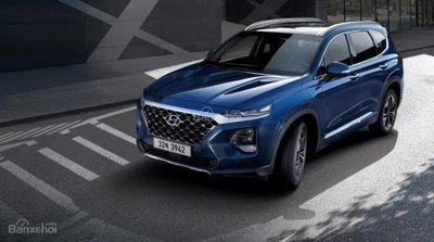 Ảnh Hyundai Santa Fe 2019 thế hệ mới a4