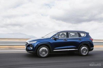 Ảnh Hyundai Santa Fe 2019 thế hệ mới a2