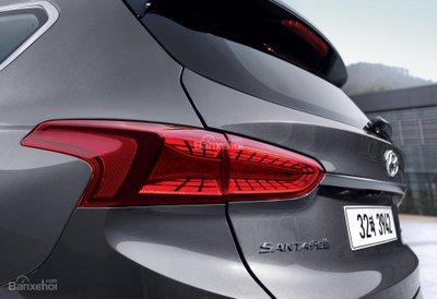 Ảnh Hyundai Santa Fe 2019 thế hệ mới a16