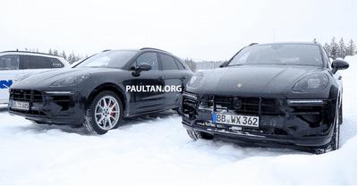 Porsche Macan 2019 bị tóm gọn khi đang thử nghiệm trong điều kiện lạnh giá a4