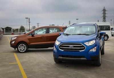Giá xe Ford EcoSport thế hệ mới cập nhật hàng tháng.
