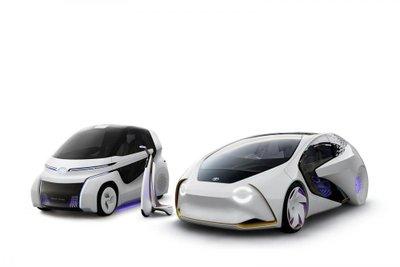 Xe điện thông minh Toyota Concept-i khoe bánh tại Geneva - 5