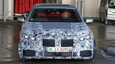 BMW 7-Series 2019 facelift.