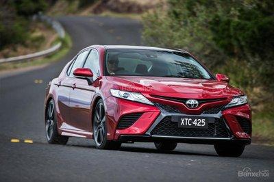7 mẫu ô tô tái thiết kế đáng tiền nhất 2018 Toyota Camry 2018 z