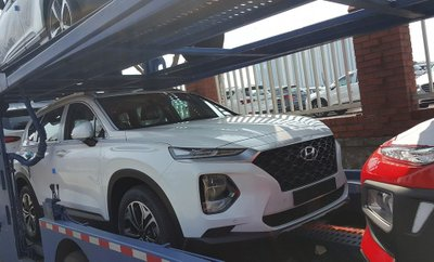 Lộ hình ảnh Hyundai Santa Fe 2019 được cho là ở Việt Nam, liệu sắp bán? a1