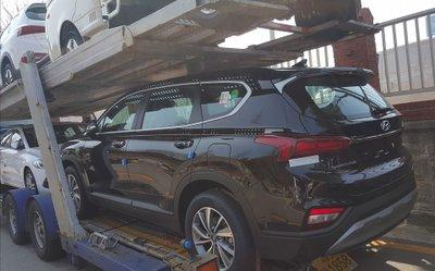 Lộ hình ảnh Hyundai Santa Fe 2019 được cho là ở Việt Nam, liệu sắp bán? a3
