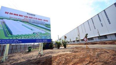 Nhà máy Mazda lớn nhất Đông Nam Á chuẩn bị khánh thành trong tuần tới.