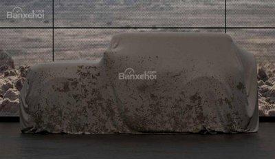 Ảnh nhá hàng của Ford Bronco 2020.