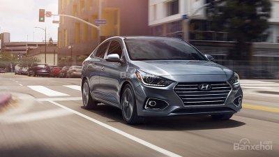 Hyundai Accent 2018 nhận đặt cọc với giá 410 triệu cho bản sedan số tự động tại Việt Nam.