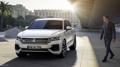 Đầu xe Volkswagen Touareg 2019
