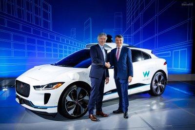 Waymo mua 20.000 chiếc Jaguar I-Pace EV để làm xe tự hành sss