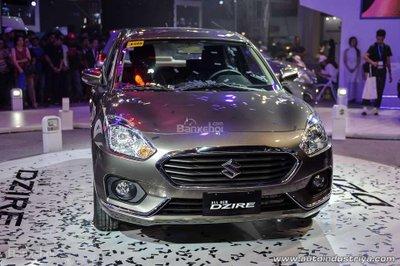 Suzuki Dzire hoàn toàn mới cập bến Philippines z