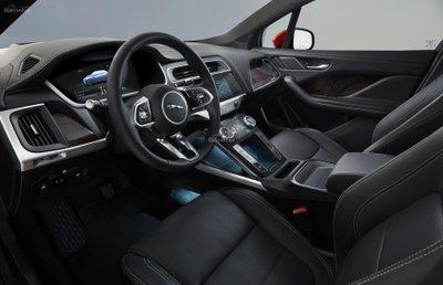 Nội thất xe Jaguar I-Pace 2019zz