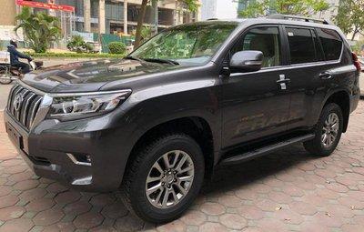Toyota Prado VX 2018 nhập khẩu tư nhân đắt hơn giá hãng gần tỷ đồng.