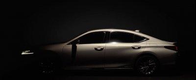 """Lexus ES 2019 lộ diện """"trần trụi"""" ngay trước ngày ra mắt 4a"""