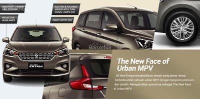 Ảnh chi tiết MPV giá rẻ Suzuki Ertiga 2018 thế hệ mới tại Indonesia - a71