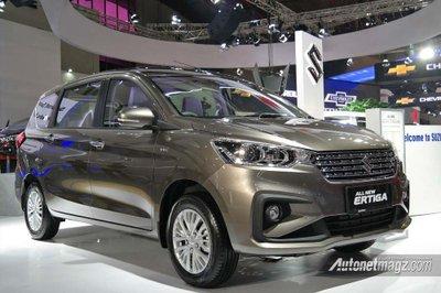 Ảnh chi tiết MPV giá rẻ Suzuki Ertiga 2018 thế hệ mới tại Indonesia - a2