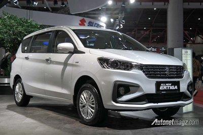 Ảnh chi tiết MPV giá rẻ Suzuki Ertiga 2018 thế hệ mới tại Indonesia - a6