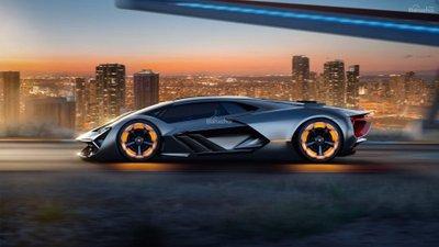 Mẫu xe concept Lamborghini Terzo Millennio 3a