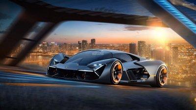 Mẫu xe concept Lamborghini Terzo Millennio 1a