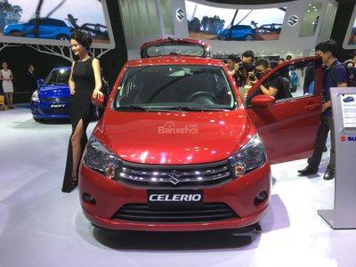 Suzuki Celerio số sàn 299 triệu đồng chuẩn bị về Việt Nam a1