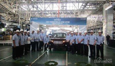 Vừa ra mắt, Suzuki Ertiga 2018 đã nhanh chóng lên dây chuyền sản xuất.
