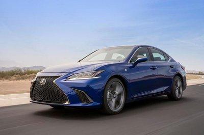 Lexus ES 2019 trình làng với nhiều điểm mới a6