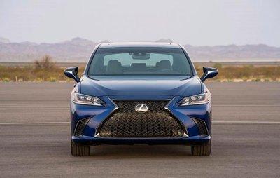 Lexus ES 2019 trình làng với nhiều điểm mới a8
