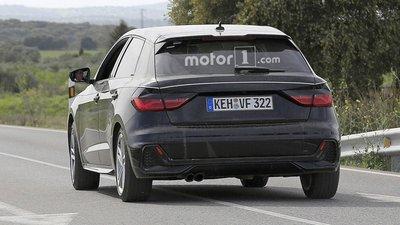 Audi A1 2019 lộ trần trên đường trước thời điểm ra mắt - Ảnh 2.