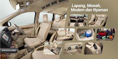 Khoang nội thất Suzuki Ertiga 2018 thế hệ mới tại thị trường Indonesia..