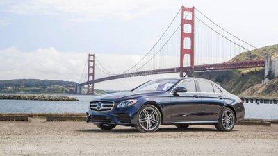 Top 10 xe sang an toàn nhất năm 2018: Mercedes-Benz E-Class góp mặt.