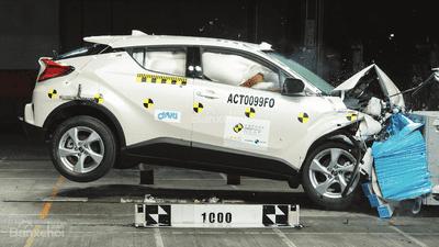 Toyota C-HR, Toyota Rush và Hyundai Ioniq đạt chuẩn an toàn - 2