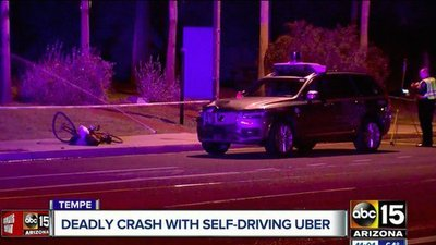 Xe tự lái Uber gây tai nạn chết người do bị lỗi phần mềm? 1