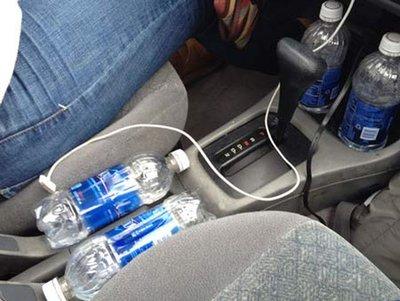 Nguy cơ từ việc đặt sai vị trí chai nước trên xe ô tô 2