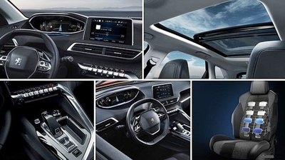 Bước vào khoang xe Peugeot 3008 2019, ngôn ngữ thiết kế i-Cockpit ghi dấu ở khắp nơi a4